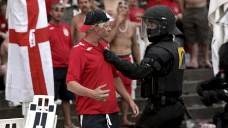 Hooligan (Foto: ROLAND MAGUNIA/AFP)