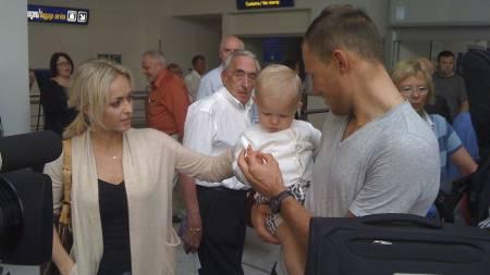 Hushovd kommer hjem som verdensmester. (Foto: TV 2/)