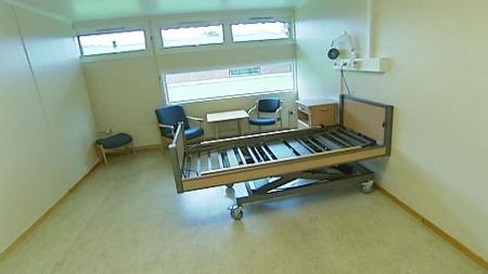 Ringerike kommune har ikke råd til å ta i bruk sykehjemsplassene. (Foto: TV 2)