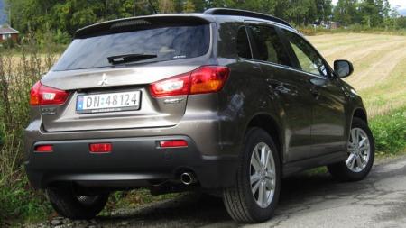 Mitsubishi ASX har blitt en ekte Norgesbil - og er kronemessig den bilen som taper seg aller minst i verdi av disse fire. 116.000 kroner etter fem år.