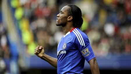 Didier Drogba er syk og må stå over den vanskelige bortkampen mot Aston Villa. (Foto: DYLAN MARTINEZ/Reuters)