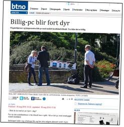 btfaksi (Foto: Faksimile BT.no)