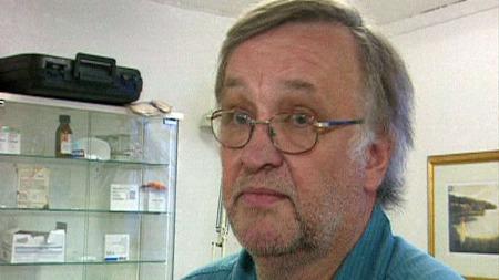 SOLGTE PRAKSIS: Veterinær Dagfinn Berg solgte i fjor veterinærpraksisen sin og fikk en fin fortjeneste. Men en feil hos skattemyndighetene gjorde han langt rikere i skattelistene enn han i realiteten er. (Foto: TV 2 (arkivbilde))