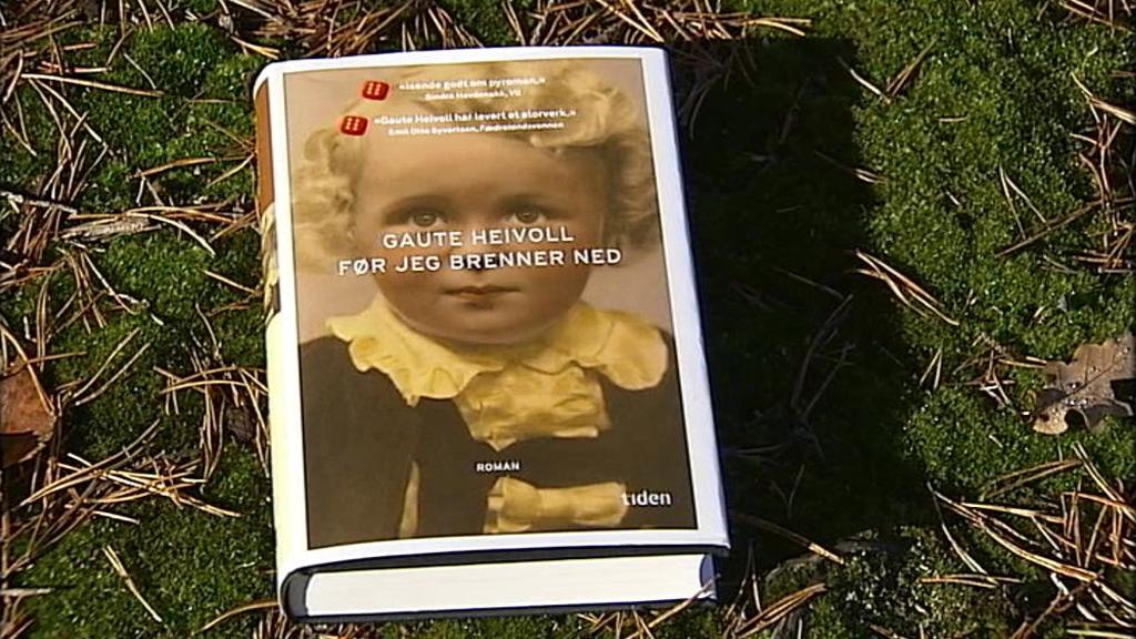 Heivolls bok var blant de heteste på bokmessen i Frankfurt nå i høst. (Foto: Christopher Fornebo)
