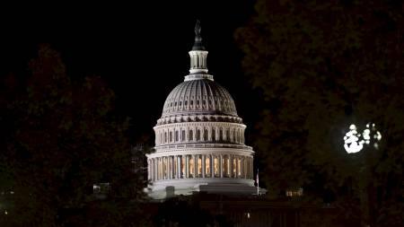 Kongressen på Capitol Hill i Washington. (Foto: NICHOLAS KAMM/Afp)
