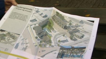 BYGGESTOPP: Også i Ulstein kommune blir samarbeidsprosjektet med et privat firma rammet.  (Foto: TV 2)