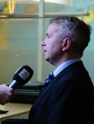 Justisministeren måtte fortelle om sin kjennskap om TV 2-avsløringene onsdag kveld.  (Foto: Goran Jorganovich/TV 2 )