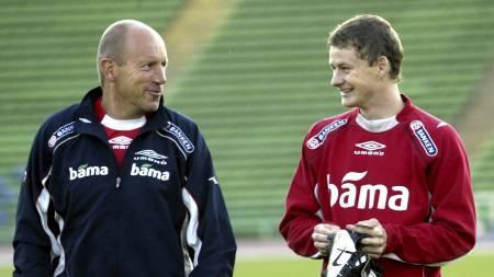 Nils Johan Semb og Ole Gunnar Solskjær (Foto: Richardsen, Tor/NTB scanpix)