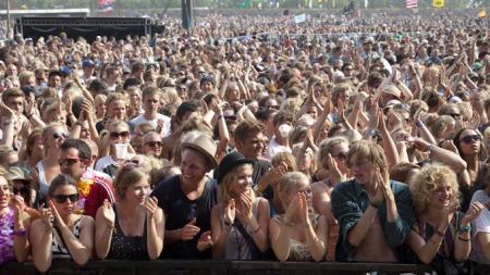 Illustrasjonsfoto fra Roskilde-festivalen i 2010. (Foto: Torben Christensen, ©bri//FH)