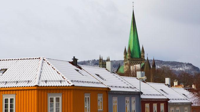 Dete bildet ble tatt en kald dag i mars i år. (Foto: Håkon Mosvold Larsen / Scanpix)