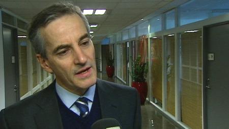 Utenriksminister Jonas Gahr Støre (Ap). (Foto: TV 2)