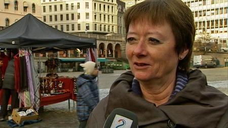 Aps integreringspolitiske talskvinne, Lise Christoffersen. (Foto: TV 2)