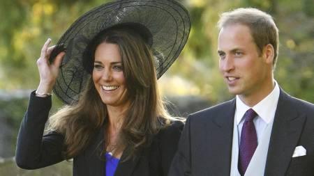 GIFTER SEG: Prins William og Kate Middleton har vært kjærester i åtte år. Til neste år er hun Storbritannias kommende dronning. (Foto: Chris Ison/Pa Photos)