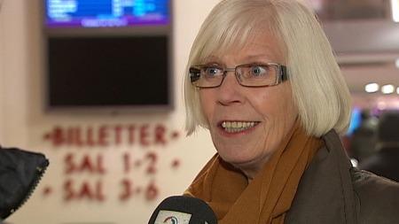 Administrerende direktør Lene Løken i Film & kino. (Foto: TV 2)