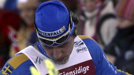 OVERTRENT: Per Elofsson ble nummer 50 på 15 km på Beitostølen i 2003. (Foto: Bendiksby, Terje/SCANPIX)