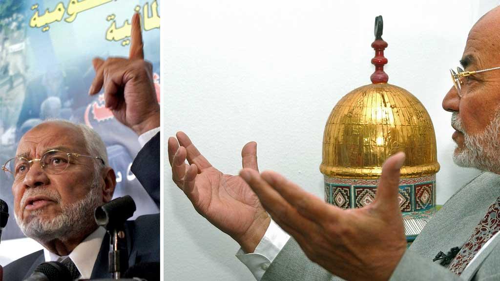 VIL VISE ISLAM FOR EUROPA: Mohammed Mahdi Akef er lederen for Det muslimske brorskap i Kairo. I et intervju med TV 2 forteller han om den islamistiske bevegelsens mål i Europa. (Foto: Amr Nabil/Ap)