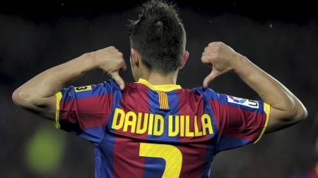 David Villa. (Foto: JOSEP LAGO/Afp)