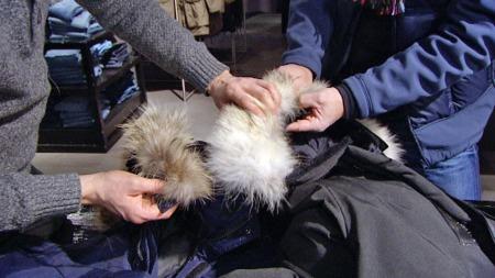 hvordan se om canada goose jakke er ekte