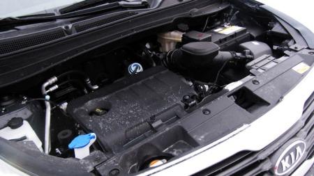 1,7-liter dieselmotor på 115 hk / 260 Nm.  (Foto: Benny Christensen)