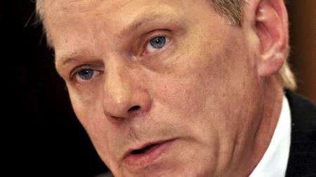 BEKYMRET: Kristinn Hrafnsson, talsmann for Wikileaks. (Foto:   John Stillwell/Pa Photos)
