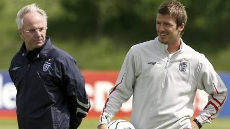 POPULÆR: Svennis mener Beckham er en av fotballhistoriens mest populære spillere. (Foto: Martin Rickett/Pa Photos)