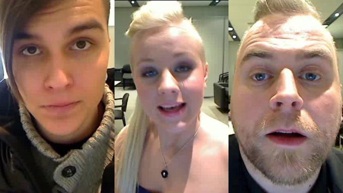 På Create A Star kan du hjelpe finalistene Atle Pettersen, Annsofi Pettersen og Hans Bollandsås.
