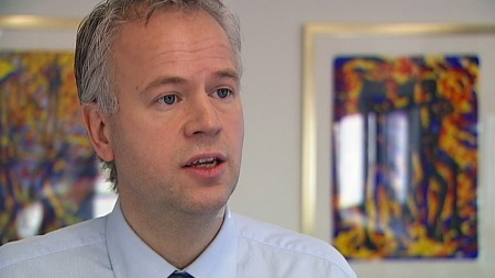 Avdelingsdirektør Øivind Strømme i Skattedirektoratet. (Foto: TV 2)