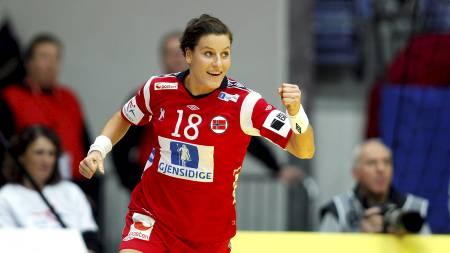 Linn-Kristin Riegelhuth.   (Foto: Kallestad, Gorm/Scanpix)