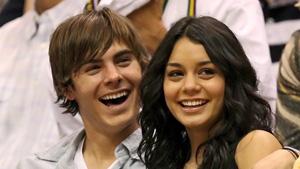 SLUTT. Kjærligheten tok slutt for High School Musical-paret   Zac Efron og Vanessa Hudgens.