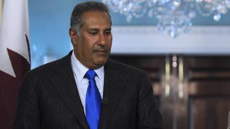 Sheikh Hamad Bin Jassim Jabr Al-Thani, (Foto: TIM SLOAN/AFP)