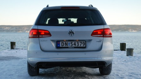 VW-Passat-2011-Rettbakfra (Foto: Benny Christensen)