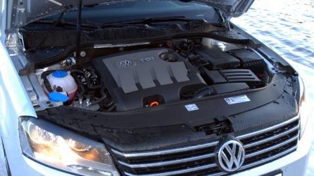 VW-Passat-2011-motor (Foto: Benny Christensen)