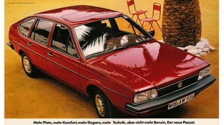 Annonse for VW Passat fra 1981