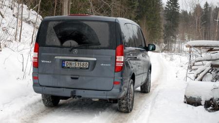 4Matic sikrer trygg framdrift på snø og holke (Foto: Benny Christensen)