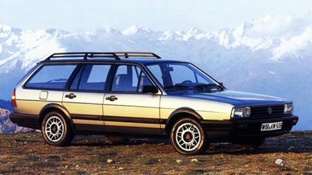 1985 modell, med facelift, Syncro og 5-sylindret Audi-motor på 136 hk. Kongebil den gang...