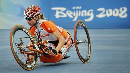 Monique van der Vorst OL Beijing 2008 (Foto: AP)