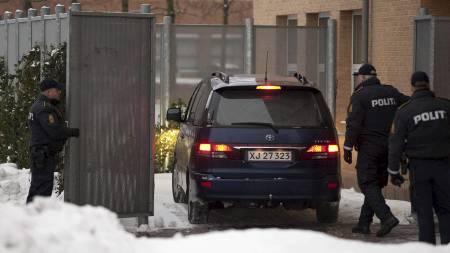 Tre av de terrorsiktede mennene forblir varetektsfengslet i Danmark. (arkivfoto) (Foto: Peter Hove Olesen/Ap)