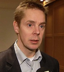 Den drapssiktedes forsvarer, Truls Heitmann. (Foto: TV 2)