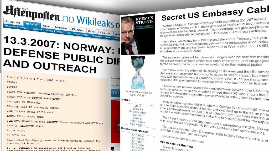 HACKET: Aftenpostens nyhetsredaktør kan ikke utelukke at data-angrepet har sammenheng med avisens Wikileaks-dekning.  (Foto: TV 2-montasje)