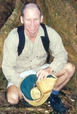 Jonathan Nott er geograf, og arbeider med naturkatastofer. (Foto: James Cook University)