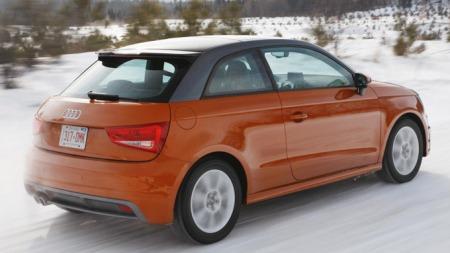 A1 Quattro er nå til testing i Canada. Foto: Audi