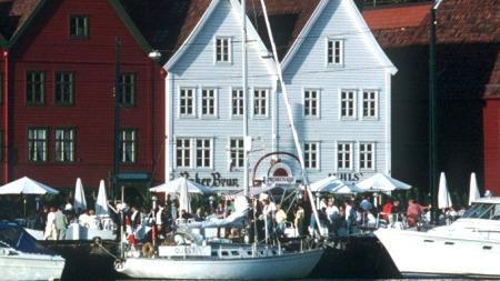 Brygga i Bergen. (Foto: BIA/SCAN-FOTO)