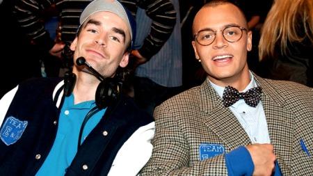 Erik og Kriss fra program to i «Det store korslaget». (Foto: Glenn Svendsen/Stella pictures)