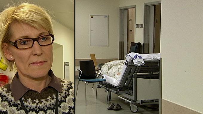 korridor_hulda_gunnlaugsdottir (Foto:  Inger Marie Norstrøm/TV 2)