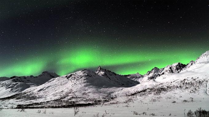 Kattfjordeidet på Kvaløya ved Tromsø. (Foto: Rune Stoltz Bertinussen )