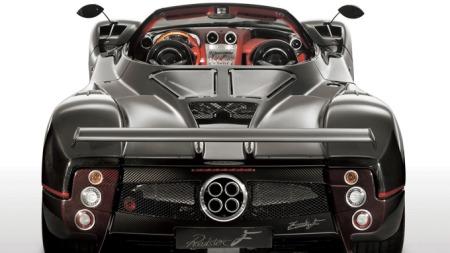 Pagani Zonda, bilen Huayra skal erstatte - her i roadsterutgave.