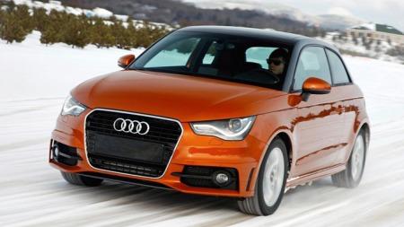 Audi har den siste tiden testet A1 med Quattro i Kanadas vinterlandskap. Foto: Audi
