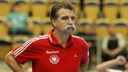 Tysklands trener Heiner Brand. (Foto: Larsen, Håkon Mosvold/Scanpix)