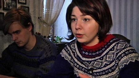 SAVNER NORGE: Maria Amelie sier hun stadig vekk   må minne seg selv på at hun er i Russland. (Foto: TV 2)
