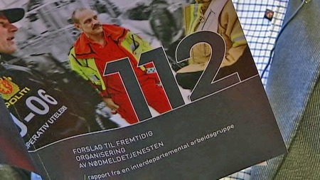 112 FOR ALLE: Regjeringen vil ha ett, felles nødnummer. (Foto: TV 2)